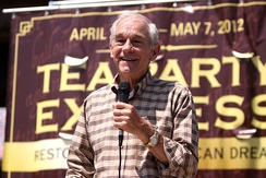 Ron Paul at 2012 Tea Party Express Rally