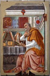 Augustine of Hippo wrote that original sin is transmitted by concupiscence and enfeebles freedom of the will without destroying it.[5]