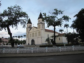 The cathedral of São Tomé