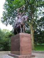 The Wladyslaw Jagiello monument in NYC 1.jpg