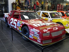 Richmond's No. 25 on display at the Hendrick Motorsports shops in 2013