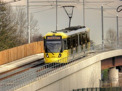 Phase 3 extended Metrolink to Manchester Airport and introduced a new fleet of M5000 trams