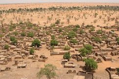 Village in the Sahel region