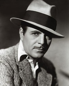 The Oscar winner Warner Baxter publicity photo.