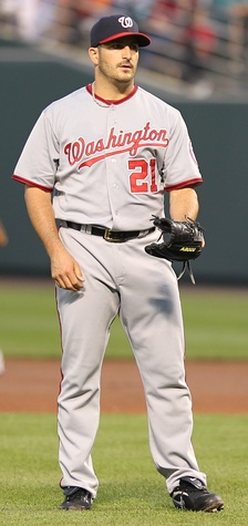 Marquis with the Washington Nationals in 2011
