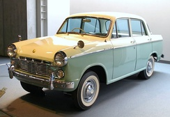 The Datsun Bluebird/310 was popularly used for taxis.[4]