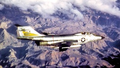 29th Fighter-Interceptor Squadron McDonnell F-101B-110-MC Voodoo Great Falls AFB, Montana March 1964