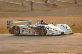 Champion Racing's Audi R8 during the 2005 Petit Le Mans.