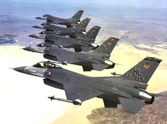 F-16 Fighting Falcons of the 388th Fighter Wing