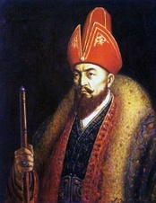Ablai Khan, khan of the Middle jüz from 1771 to 1781