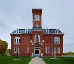 Atchison County courthouse in Rock Port