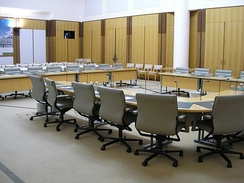 House of Representatives committee room, Parliament House, Canberra