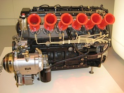 BMW M88 engine with multi-point injection