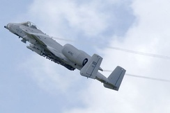 Fairchild Republic A-10A Thunderbolt II AF Serial No. 80-0155 of the 47th Fighter Squadron (AFRC), based at Barksdale. This aircraft was retired to AMARG on 4 December 2001, then returned to service