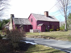 Clement Weaver House, a historic stone ender, built 1679, is one of the oldest homes in Rhode Island.