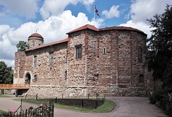 Colchester Castle, completed c.1100 AD