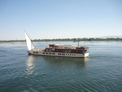 Nile Cruise Between Aswan And Esna, Egypt