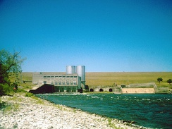 The Denison Dam located in Rayburn's House district was authorized by the Flood Control Act of 1938. The dam created Lake Texoma.
