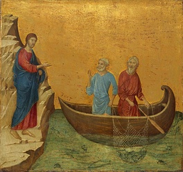 The Calling of the Apostles Peter and Andrew (from the Maestà) c. 1308–1311.