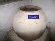 A burial jar from the 1st Century CE in Kalugumalai, Tamil Nadu