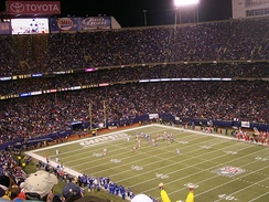 Giants Stadium was home to the Giants from 1976 to 2009.