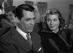 With Cary Grant in Notorious (1946)