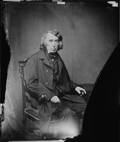 Chief Justice Roger B. Taney, photograph by Mathew Brady