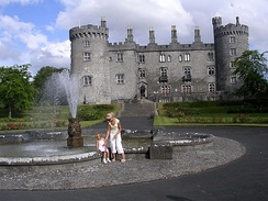 Kilkenny Castle, the signature symbol of the Medieval city