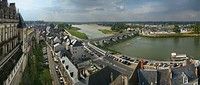 Amboise on the banks of the Loire River