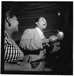 Graciela on claves and her brother Machito on maracas; Machito said that salsa was much like what he had been playing from the 1940s.