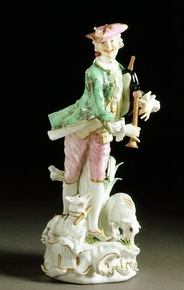 Figure, about 1750, Meissen porcelain factory Victoria and Albert Museum no. C.147-1931