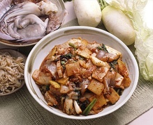 Stir-fried octopus