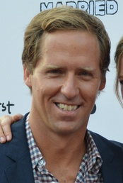 Photo of Nat Faxon at the premiere of You're the Worst in 2014.