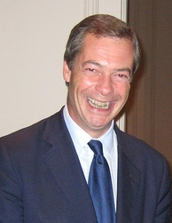 Nigel Farage, leader of the party from 2006 to 2009 and again from 2010 to 2016, and MEP since 1999
