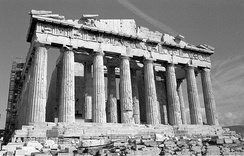 Construction of the Parthenon began in the 5th century BC