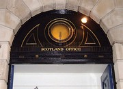 Entrance to the Scotland Office.