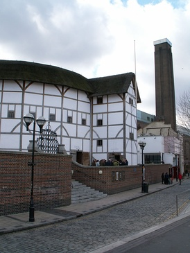 Recreation of Shakespeare's Globe Theatre in London