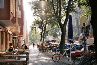 "Simon-Dach-Straße is the ""heart"" of Friedrichshain and one of the liveliest places in Berlin"