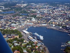 South Harbour of the Port of Helsinki, Finland