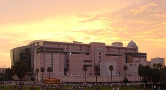 The Tampa Bay Times Forum was the site of the 2012 Republican National Convention