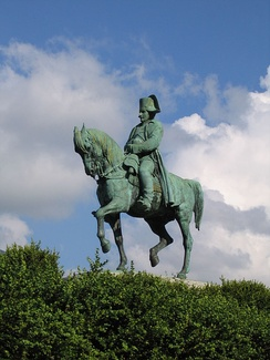 Statue of Napoleon at Laffrey