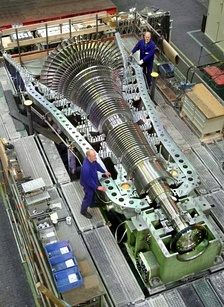 MAN steam turbine
