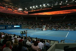 Queensland Tennis Centre at Brisbane International is a professional tennis tournament