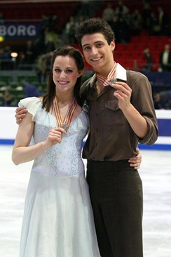 Virtue and Moir at the 2008 World Championships