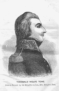 Wolfe Tone, United Irish leader.