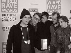 Wilco at the Wired Rave Awards in 2003