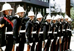 Royal Marines in 1972