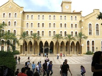 AUB College Hall in Beirut.