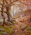 A November Morn in the Lune Valley by Reginald Aspinall