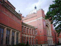 Friezes on the Aston Webb building